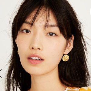 NEW Madewell Sunnyside Coin Earrings